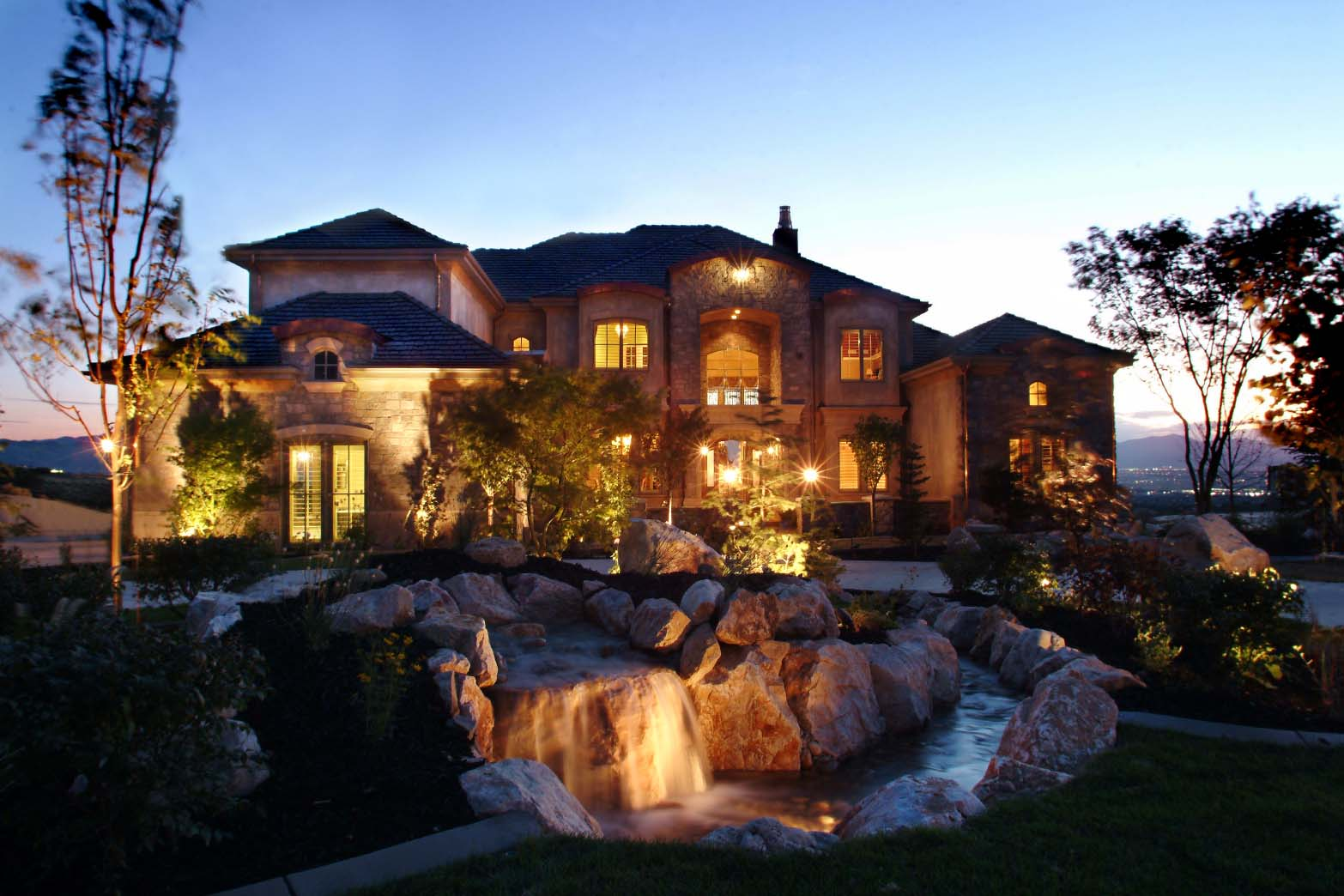 award winning landscaping and water features in utah and the
