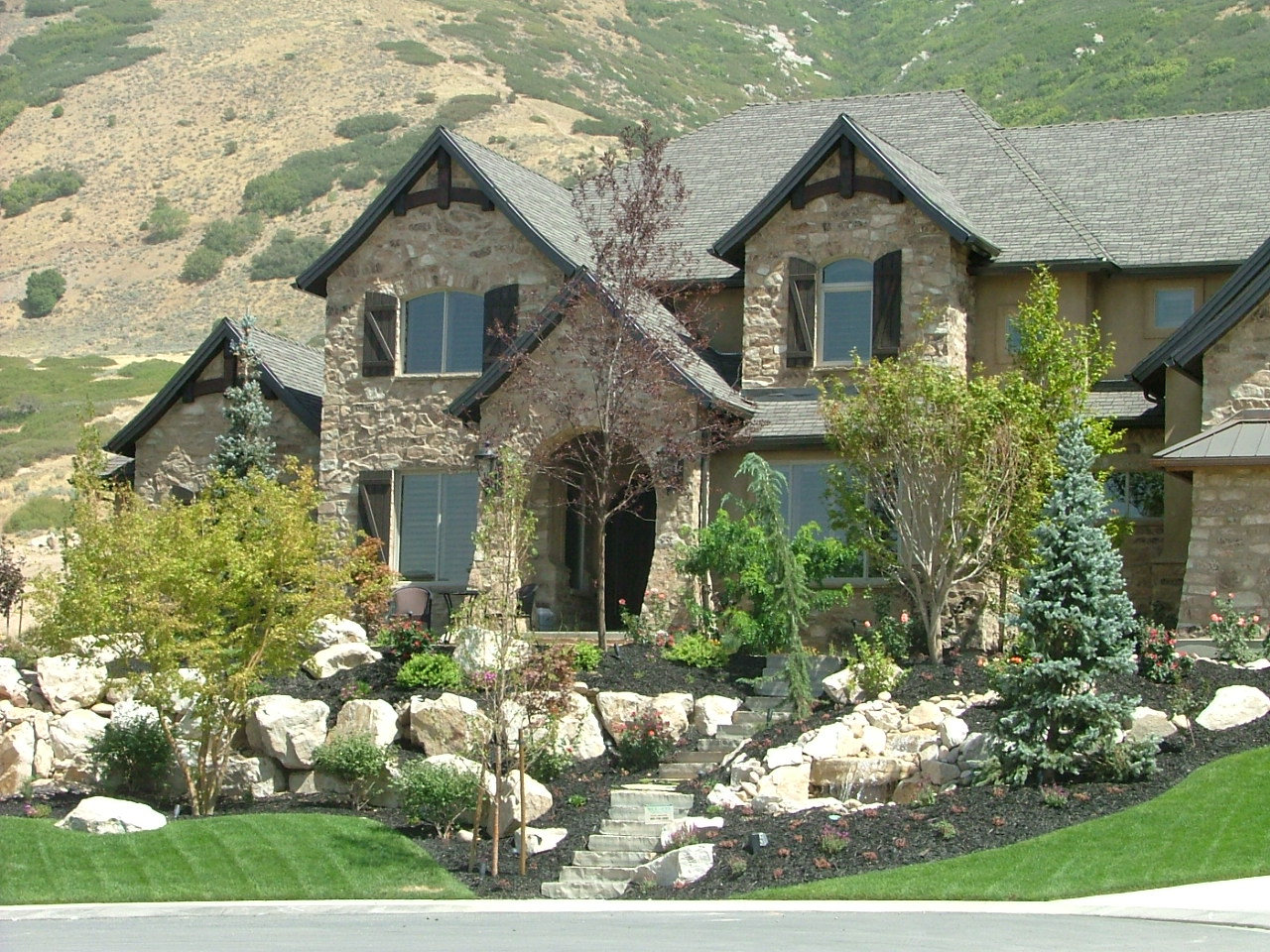 Utah Rock wall and retaining wall company, Block walls, Rockscapes, Dry  stack walls, Cement walls in Utah | Chris Jensen Landscaping in Salt lake  city and ... - Utah Rock Wall And Retaining Wall Company, Block Walls, Rockscapes
