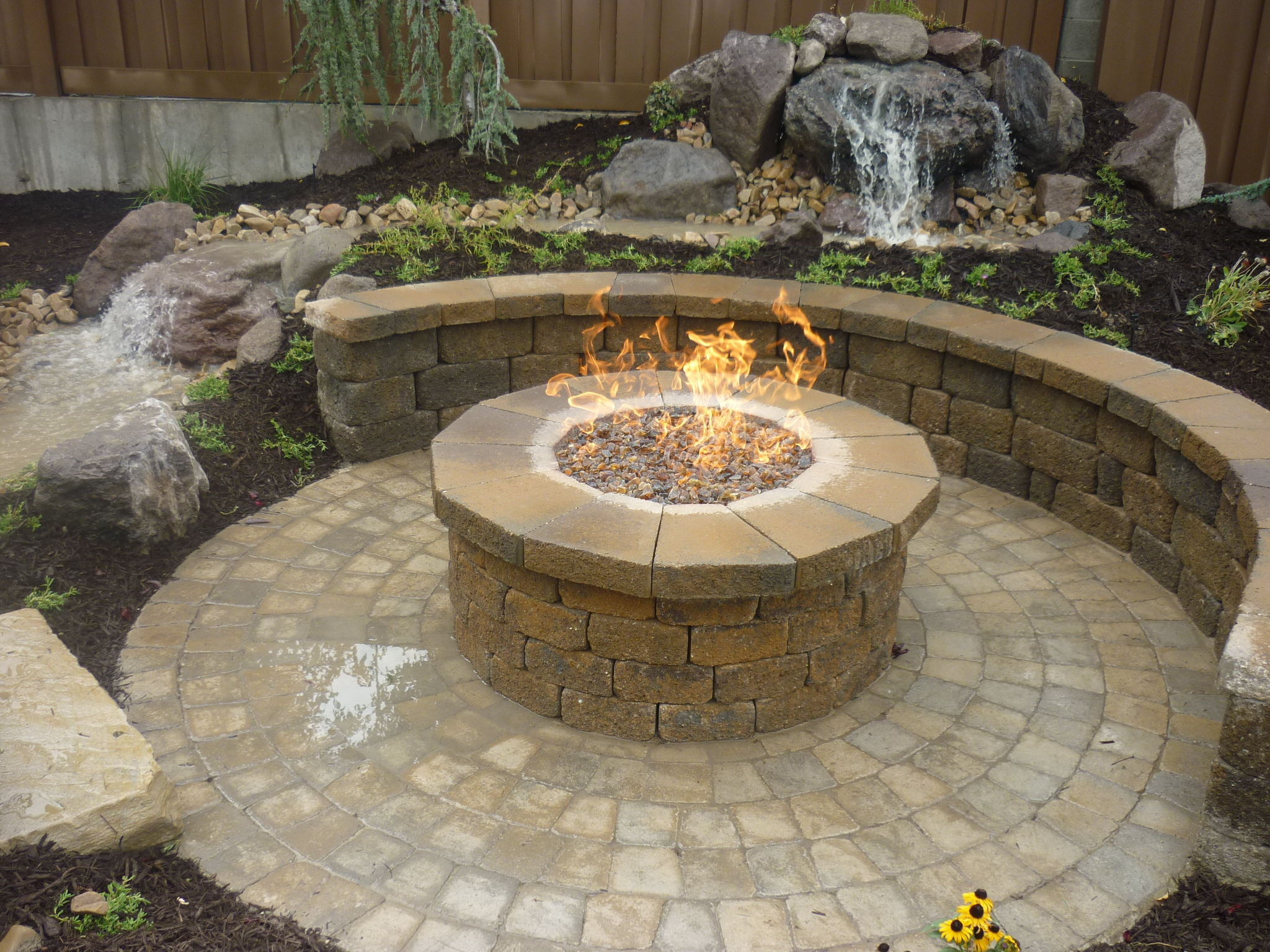 Utah Water Features Water Falls Rock Water Features And Fire In Utah Chris Jensen Landscaping In Salt Lake City And Utah County