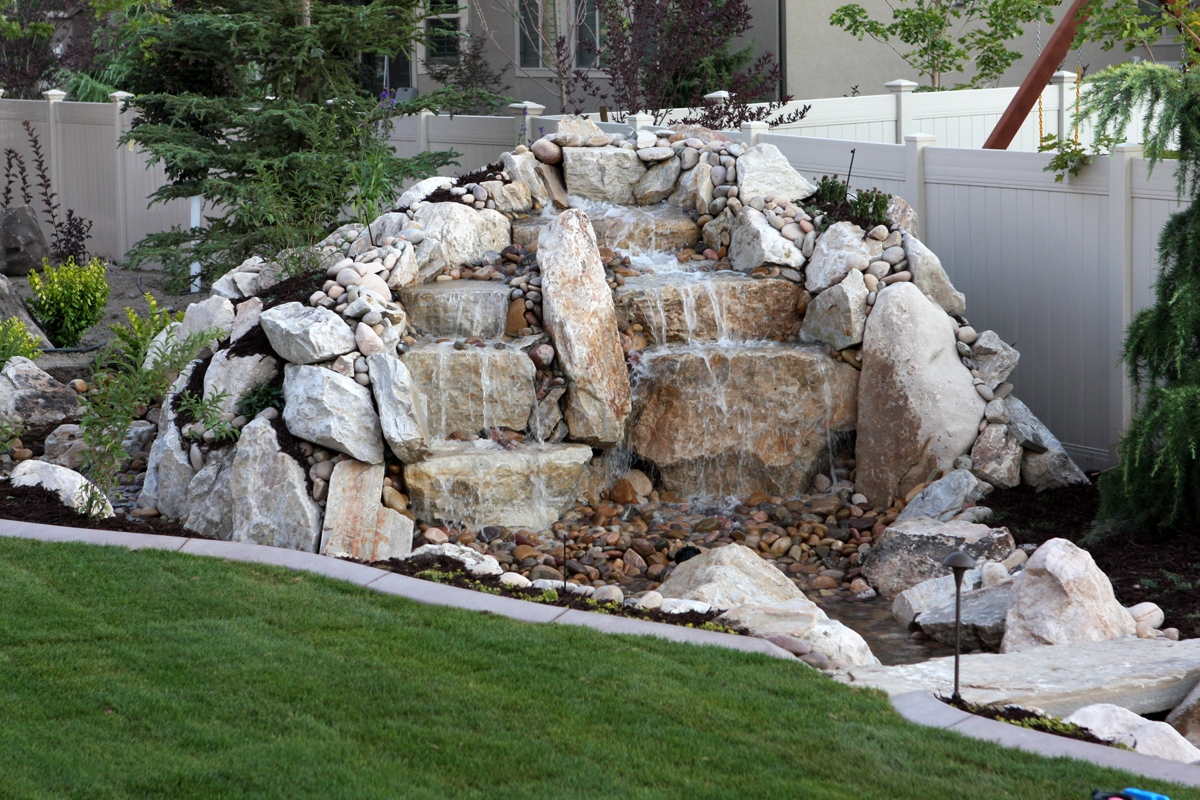 Utah landscaping design and construction utah commercial for Landscaping companies