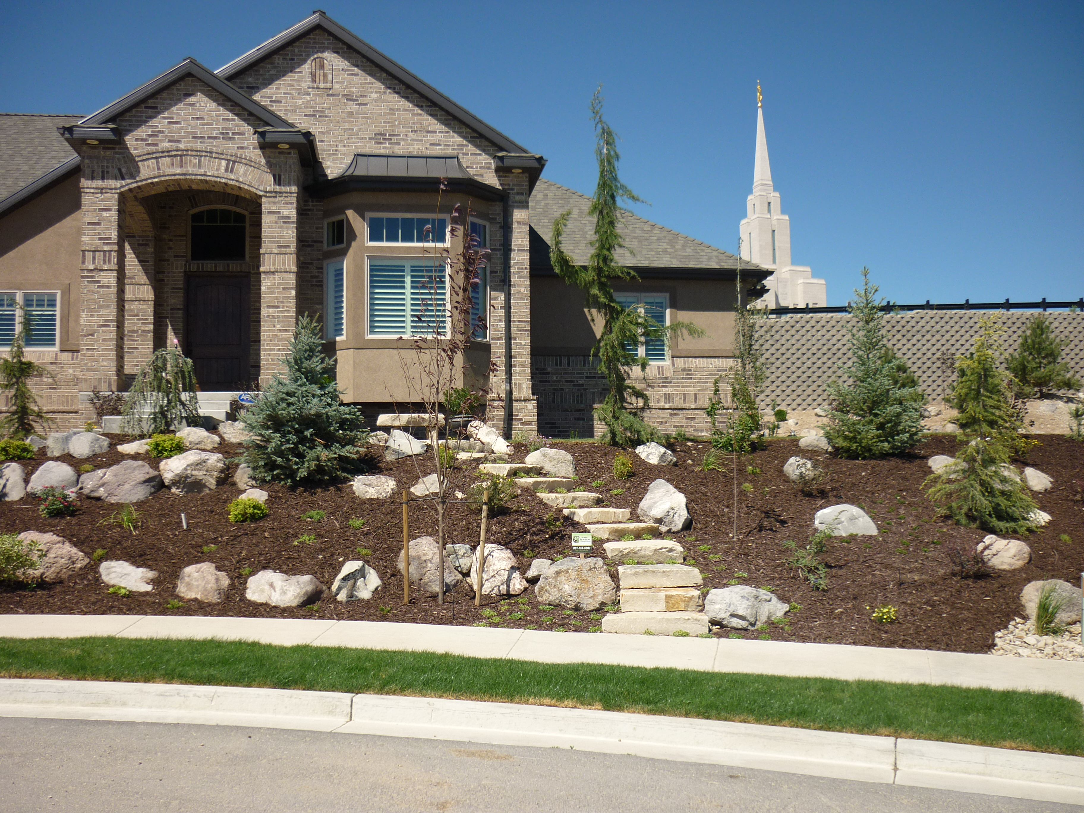 South Jordan Ut Project Chris Jensen Landscaping In