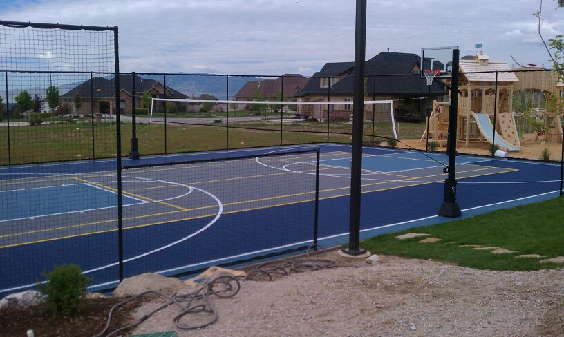 sports court in alpine utah in alpine chris jensen