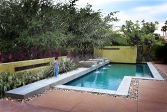 Landscaping fire pits design patios water feature in for Pool design utah