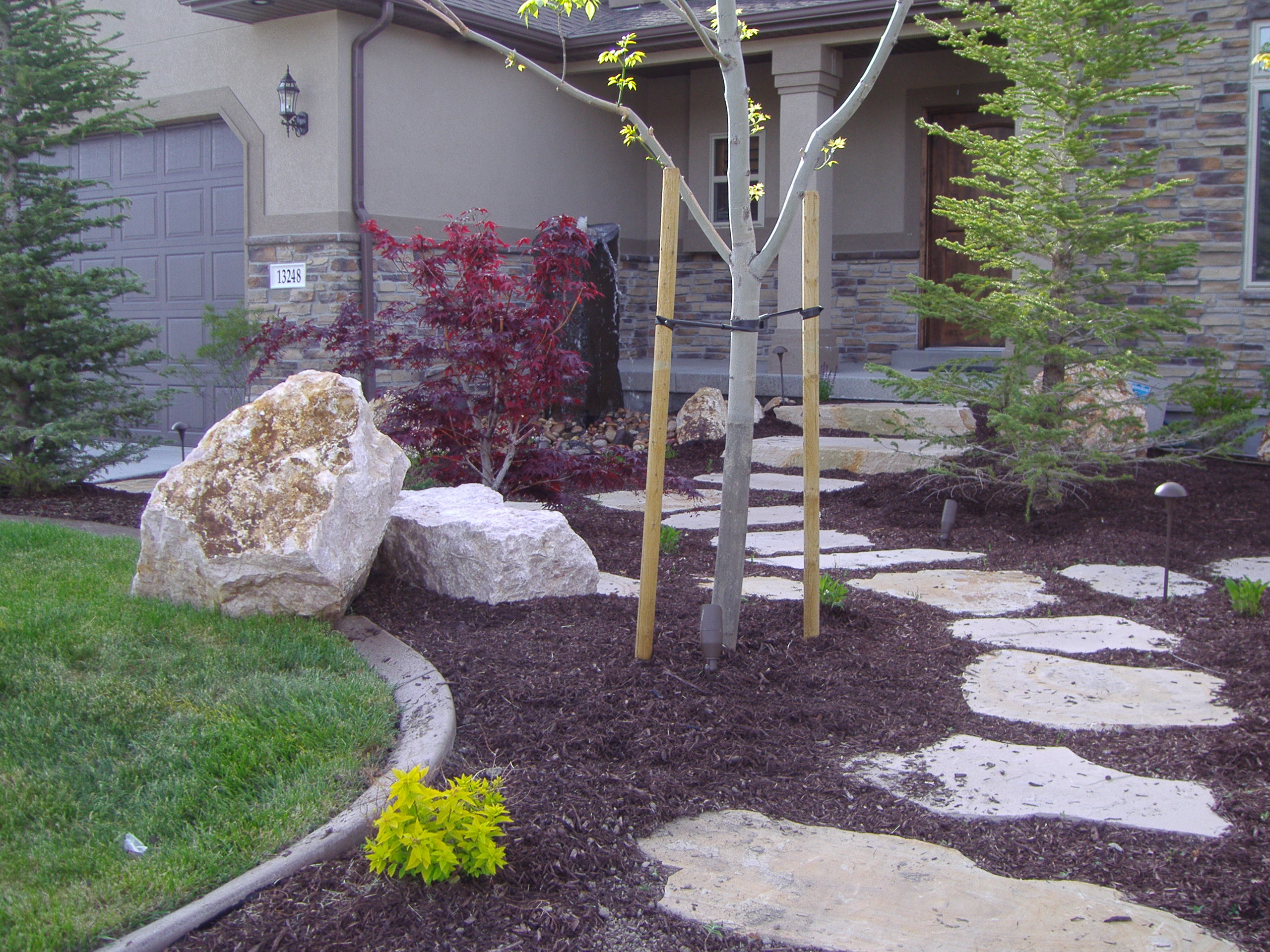 Olympus digital camera chris jensen landscaping in salt for Landscape design utah
