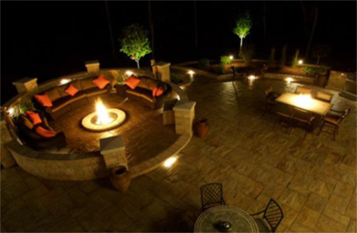 Low-Voltage-Lights-Exterior-Lamp Chris Jensen Landscaping in Salt lake city and Utah county
