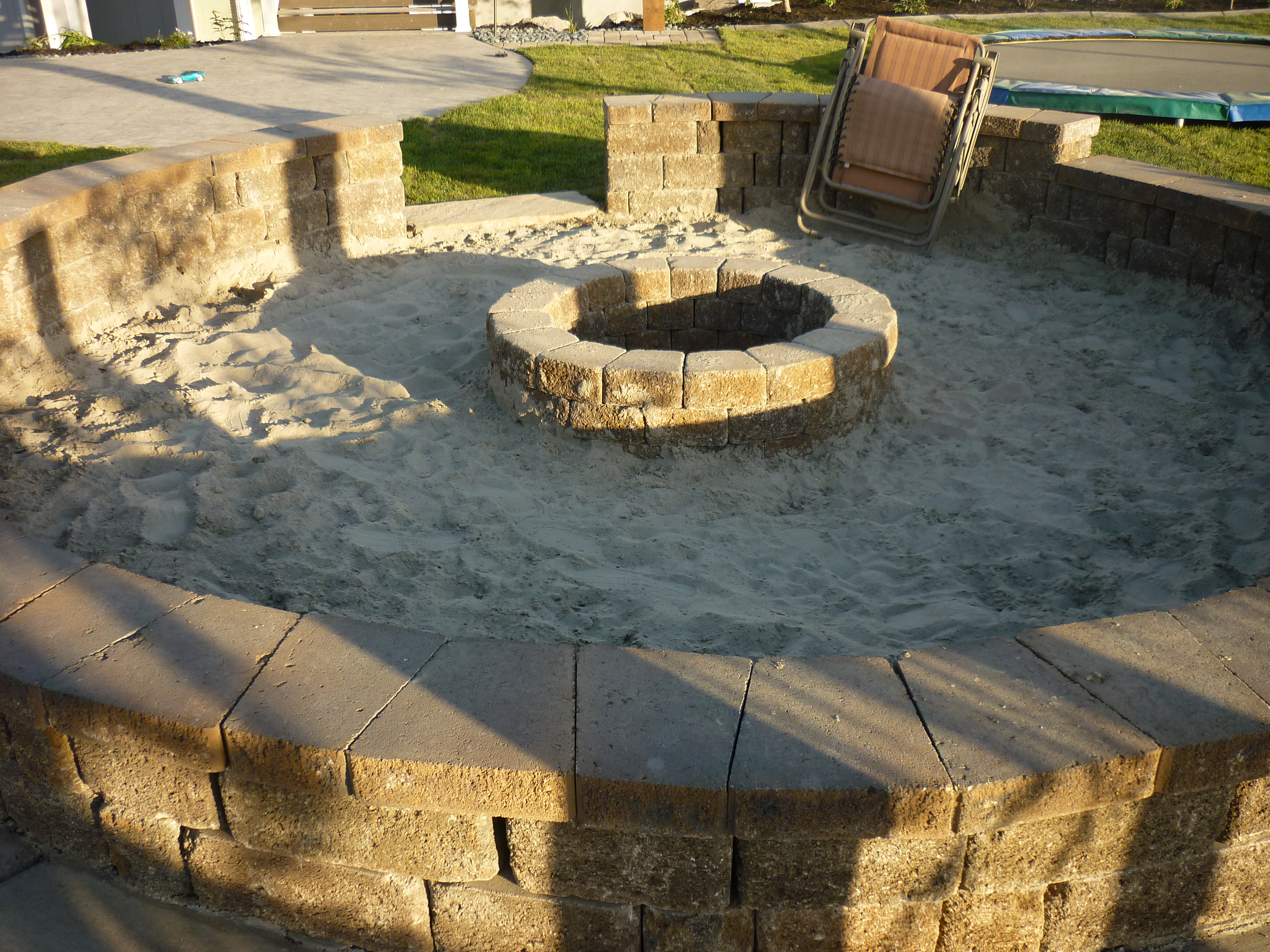 Backyard Sand Fire Pit : backyard Landscaping company for your Designs, Swimming pools, Fire