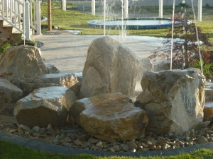 Kid friendly water features