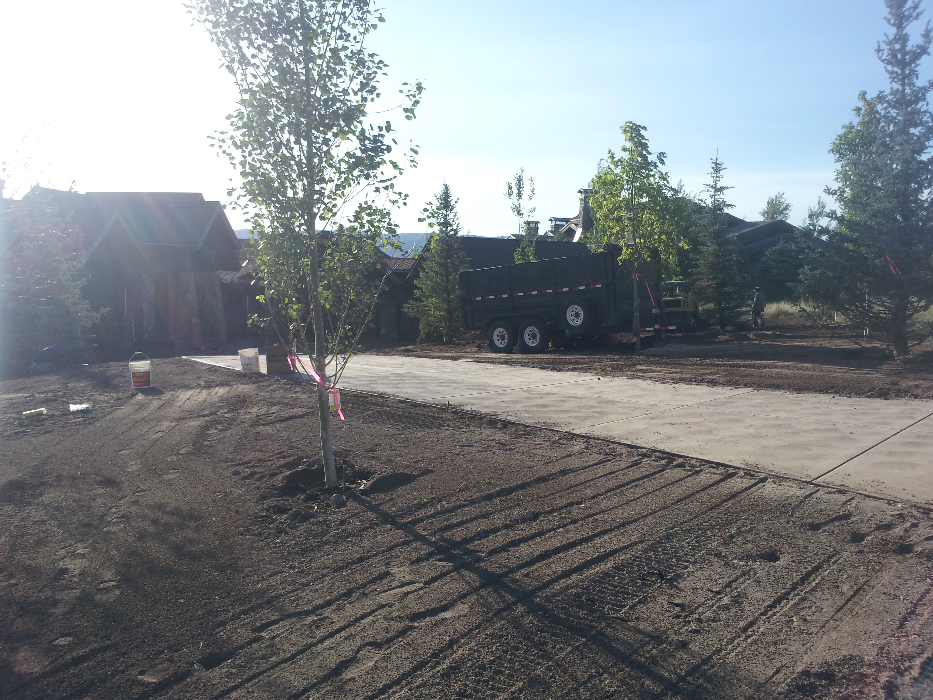 Park City Utah Landscaping Landscapers Water Featres Trees Landscape Contractors In