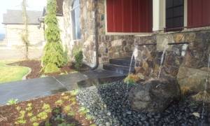 Utahs #1 landscape Contractor landscaping in the Utah Parade of Homes,  Custom landscaping, Kid friendly play areas with water features, Putting greens and design in park city Utah, Summit County Utah, Utah county Utah, Northern wasatch front, Weber county Utah