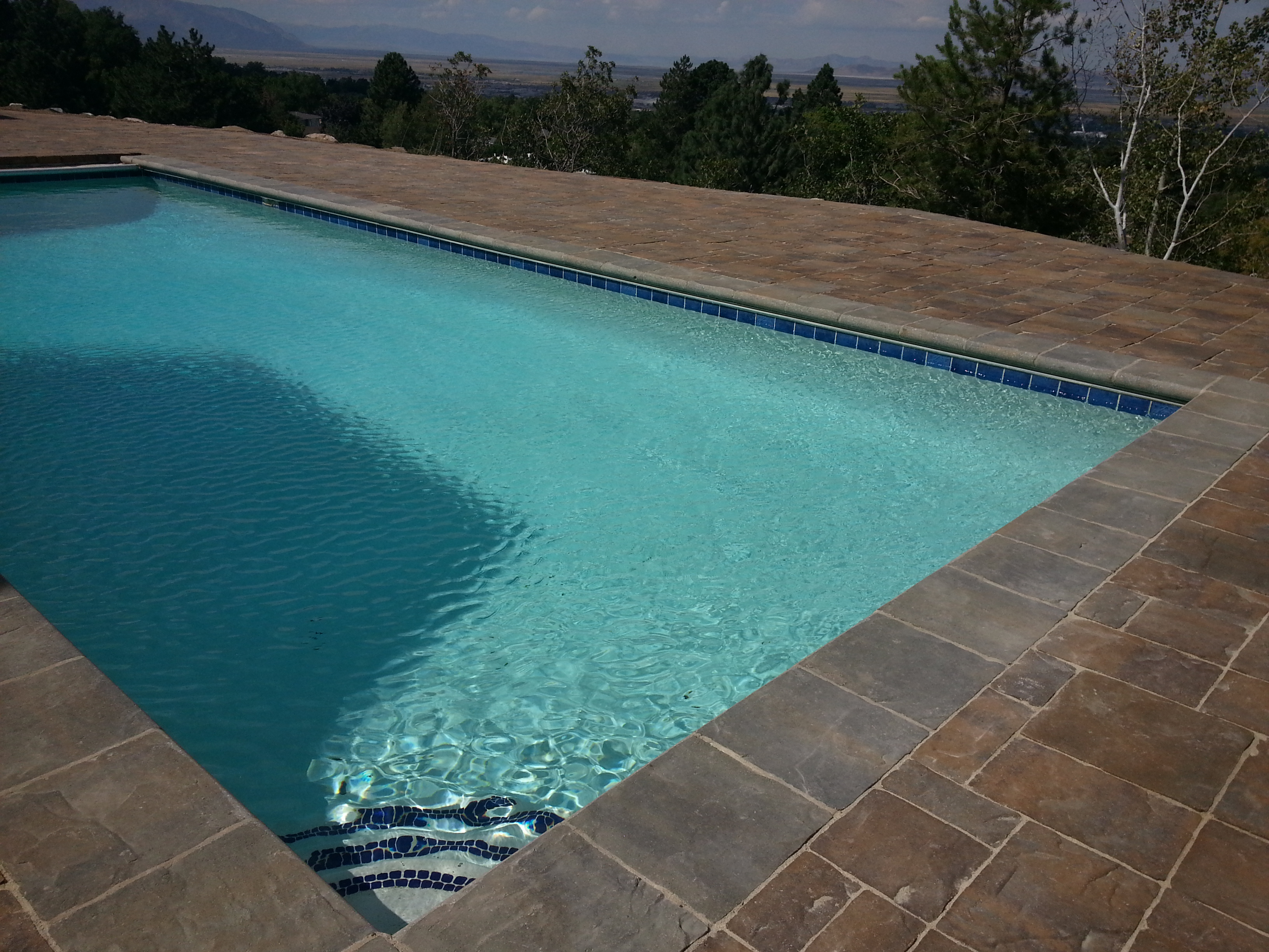 Pavers Around Swimming Pool Pavers Around Pools Paver Patios Paver Walkways Paver Walls