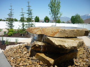 Slab Rock water feature