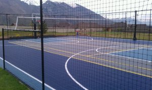 Sports Court, in Alpine Utah in Alpine