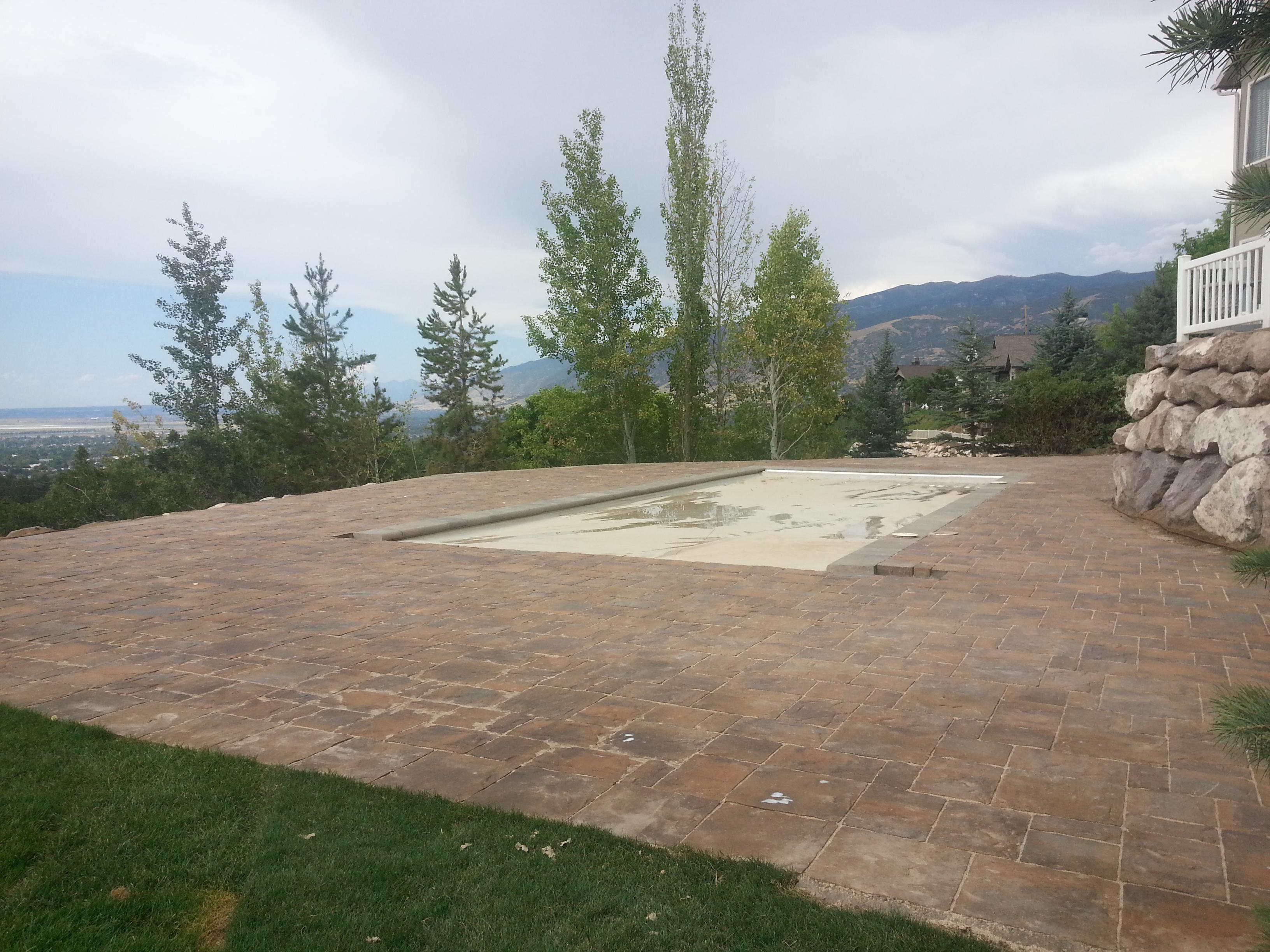 ... Landscaping In Bountiful Utah, Landscaper Installing, Huge Rock Boulder  Retaining Walls, ...