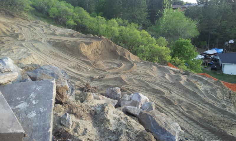 Landscaping In Bountiful Utah Landscaper Installing Huge