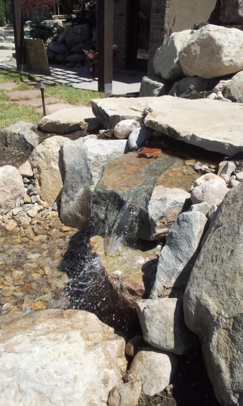 Water Fountains Chris Jensen Landscaping In Salt Lake