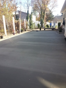 In house concrete slab